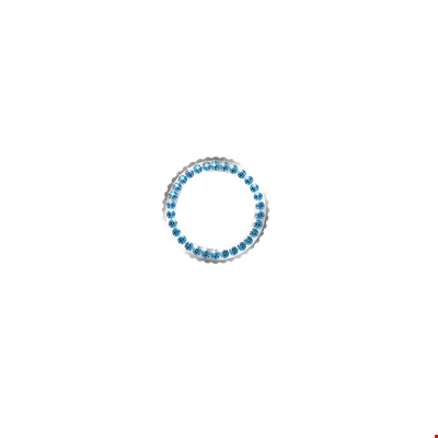 Picture of Aquamarine Crystal Bezel