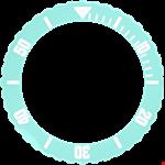 Aquamarine Bezel