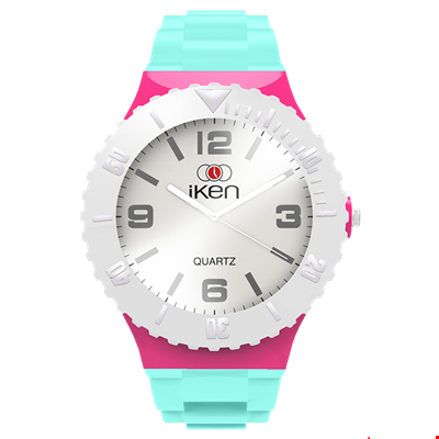 Picture of Aquamarine, Pink and White Complete Watch