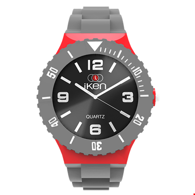 Picture of Grey, Red and Black Complete Watch