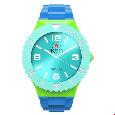Picture of Light Blue, Green and Aquamarine Complete Watch