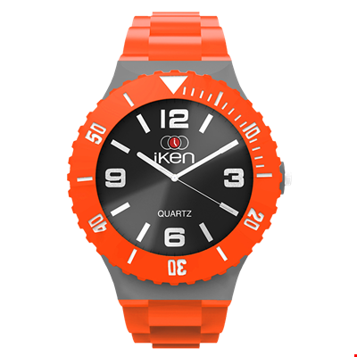 Picture of Orange, Grey and Black Complete Watch