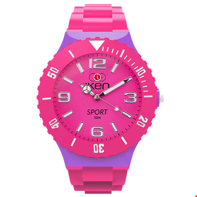 Picture of Pink and Lilac Sport Complete Watch
