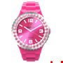 Picture of Pink Complete Watch with Rose Crystal Bezel