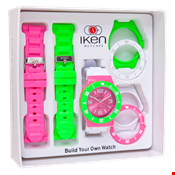 Picture of Pink, Green and White Gift Box