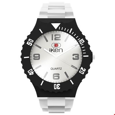 Picture of White and Black Complete Watch