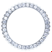 Picture of White Crystal Bezel