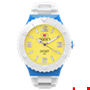 Picture of White, Light Blue and Yellow Sport Complete Watch