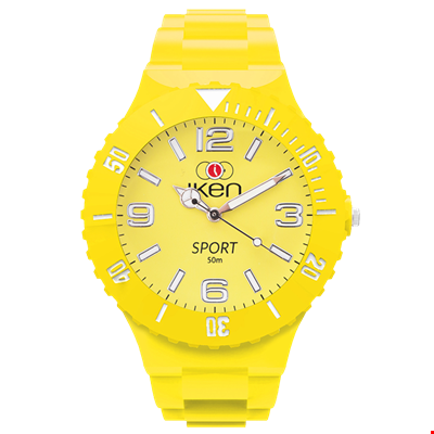 Picture of Yellow Sport Complete Watch